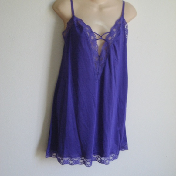 ae6e5be952d6 Bodylites Intimates & Sleepwear | Sexy Purple Babydoll Nightgown 36 ...